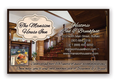 Mansion House Motel | 1/2 Horizontal Ad