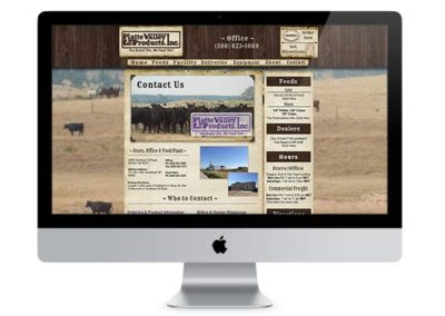Platte Valley Ag | Web Design