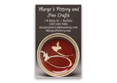 Margo's Pottery | 1/8 Vertical Ad