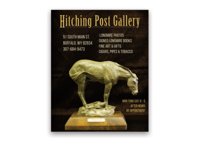 Hitching Post Gallery | 1/4 page Ad