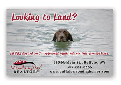 Mountain West Realty | 1/2 Horizontal Ad