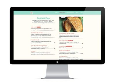 This Mixing Bowl | Web Design, Online Menu