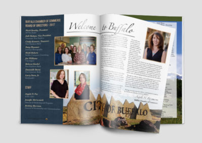 Buffalo Chamber of Commerce Tourism Magazine Design
