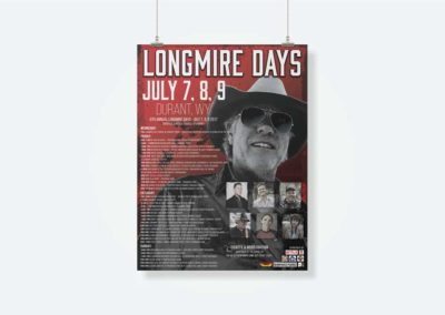 Longmire Days - 18x24 Poster Design - For Purchase