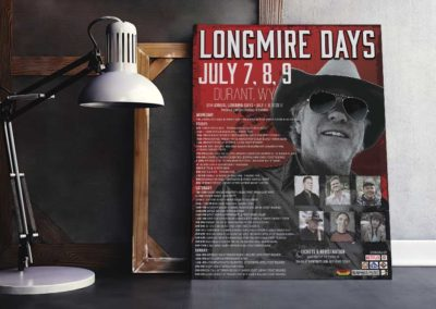 Longmire Days Swag- Buffalo Chamber of Commerce